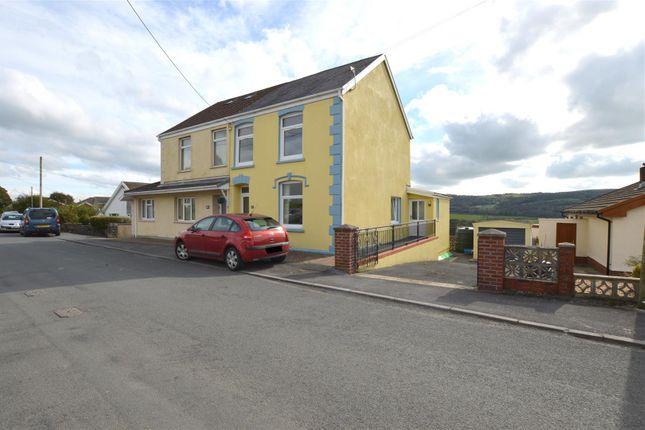 Thumbnail Semi-detached house for sale in Greenfield Terrace, Pontyberem, Llanelli