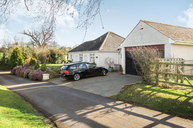 Thumbnail Detached bungalow for sale in Dipford Road, Trull, Taunton