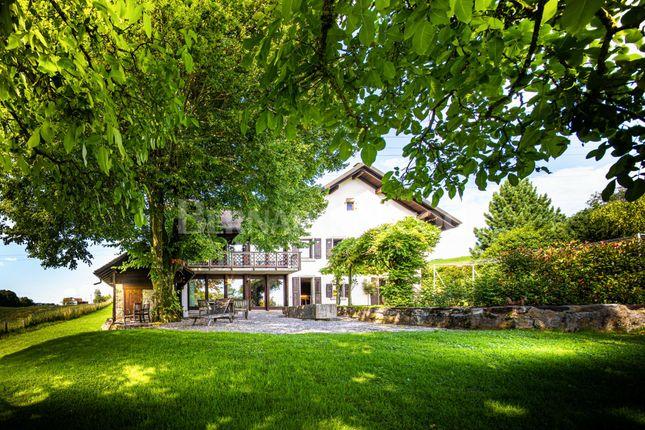 Thumbnail Detached house for sale in Route De La Petite Corniche 5, 1091 Aran-Villette, Switzerland, Aran, CH