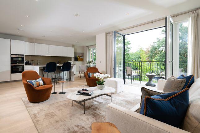 Thumbnail Flat for sale in Pinewood Gardens, Teddington