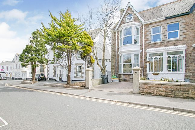 Semi-detached house for sale in Basset Road, Camborne, Cornwall