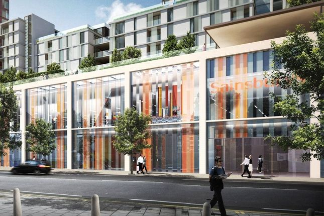 Thumbnail Retail premises for sale in Wandsworth Road, Vauxhall