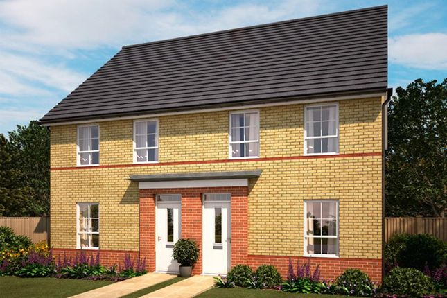 """Thumbnail Semi-detached house for sale in """"Finchley"""" at Tregwilym Road, Rogerstone, Newport"""