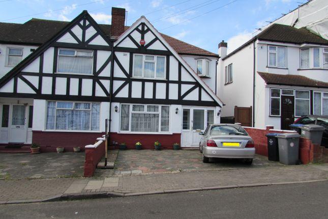 Thumbnail End terrace house for sale in Belmont Avenue, Wembley
