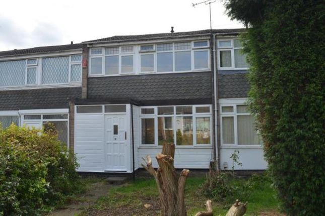 Thumbnail Terraced house to rent in Trewint Close, Exhall