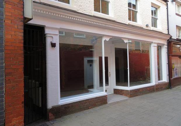 Thumbnail Retail premises for sale in Market Street, Ashby De La Zouch, Leicestershire