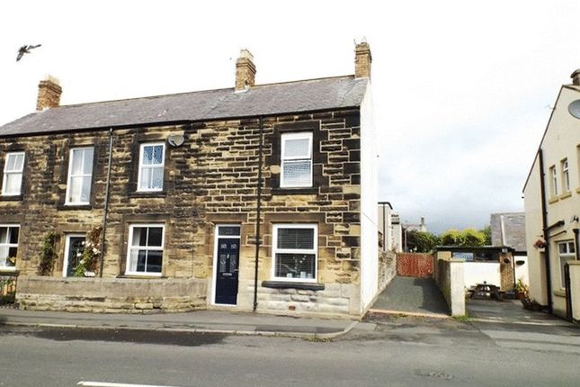Thumbnail End terrace house for sale in Woodbine Street, Amble, Morpeth