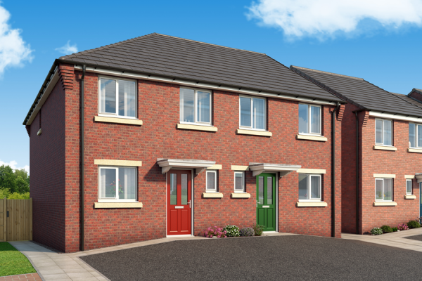 """Thumbnail Property for sale in """"The Clarendon At Derwent Heights, Dunston"""" at Ravensworth Road, Dunston, Gateshead"""