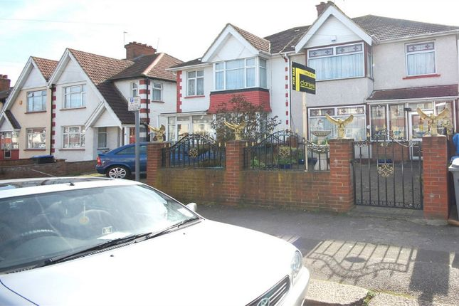 Thumbnail Semi-detached house for sale in Bowrons Avenue, Wembley