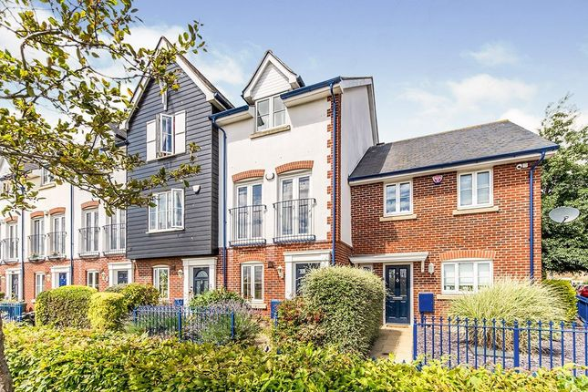 Thumbnail Terraced house for sale in Galleon Way, Upnor, Rochester, Kent