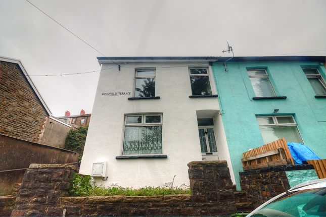 Thumbnail End terrace house for sale in Woodfield Terrace, Penrhiwceiber, Mountain Ash