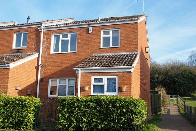 Thumbnail End terrace house to rent in Raven Walk, Belmont, Hereford