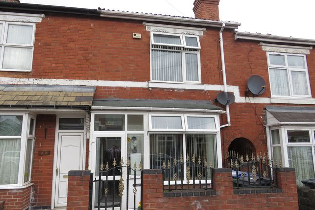 Terraced house for sale in St. Albans Road, Smethwick