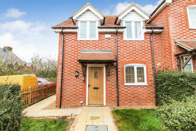 Thumbnail End terrace house for sale in Cold Ash Hill, Cold Ash, Thatcham