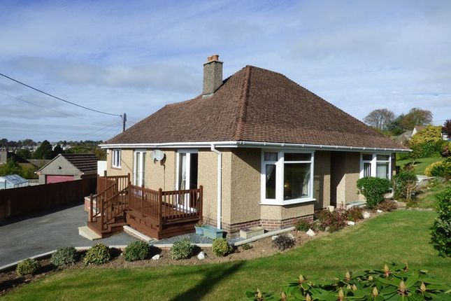 Thumbnail Detached bungalow for sale in Mohuns Park, Tavistock