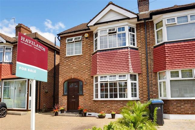Thumbnail End terrace house for sale in Countisbury Avenue, Enfield