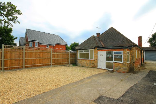 Thumbnail Detached bungalow to rent in Mytchett Road, Mytchett, Camberley