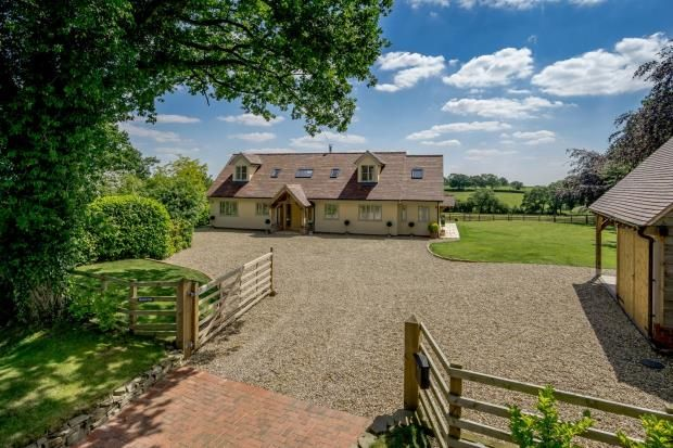 Thumbnail Detached house for sale in Hilderstone, Stone, Staffordshire