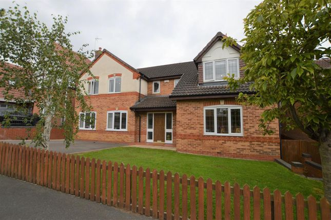 Thumbnail Detached house for sale in Woodcote Way, Littleover, Derby
