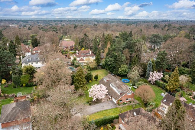 Thumbnail Detached house for sale in Old Woking Road, Pyrford, Woking