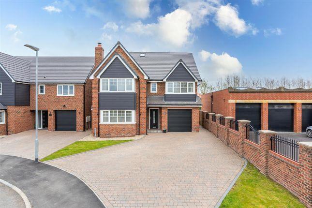 Thumbnail Detached house for sale in St. Davids Park, Cramlington