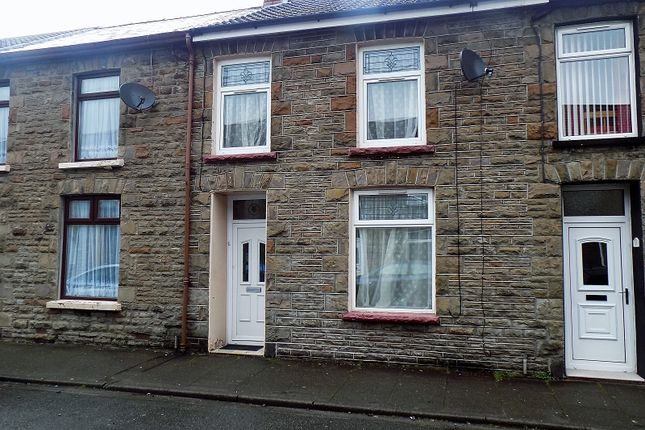 Thumbnail Terraced house to rent in Stanley Road, Gelli, Pentre, Rhondda Cynon Taff.