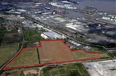 Thumbnail Land to let in Land, Imm-Port, Kings Road, Immingham, North East Lincolnshire