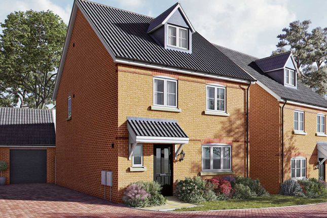 "Thumbnail Detached house for sale in ""The Ripley"" at Newmarket Road, Royston"