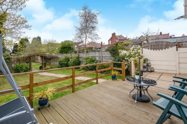 Garden of Mount Street, Hednesford, Cannock, Staffordshire WS12