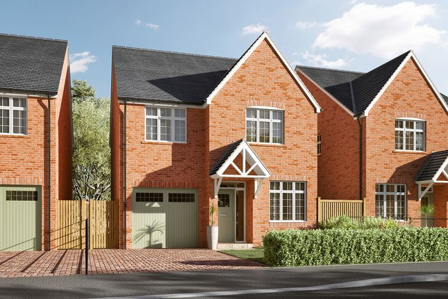 Thumbnail Semi-detached house for sale in The Henbury, Fieldfare Way, Sandbach, Cheshire