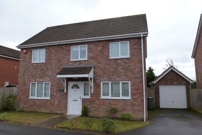 Thumbnail Detached house to rent in Coniston Gardens, Yeovil
