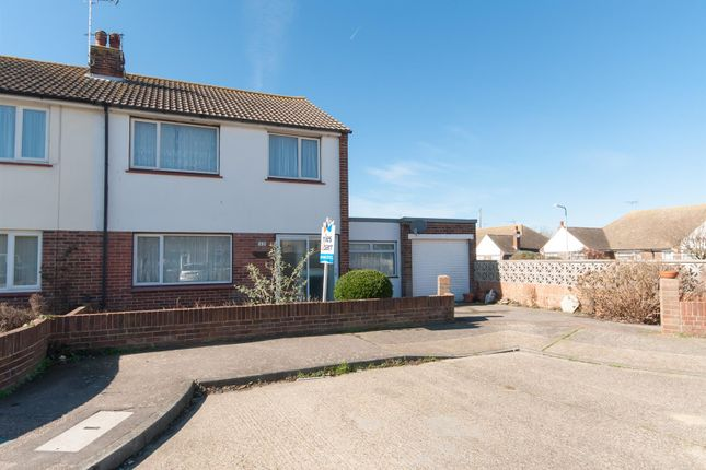 Thumbnail Semi-detached house for sale in Leybourne Drive, Margate