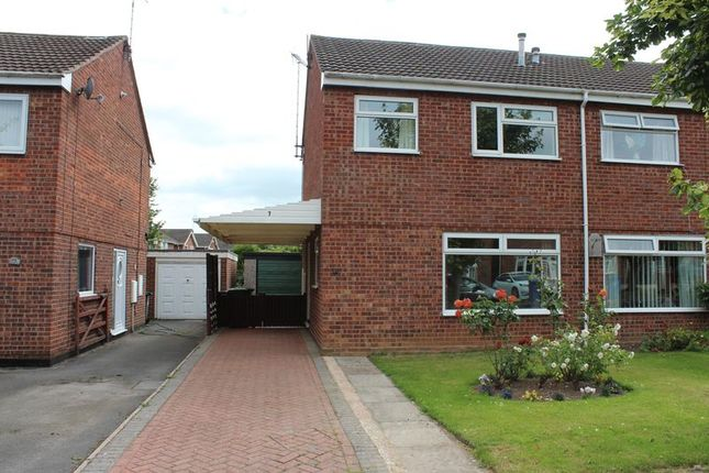 Thumbnail Semi-detached house to rent in Northfield Close, Uttoxeter