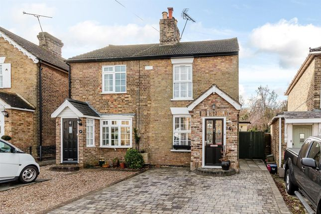 Thumbnail Semi-detached house for sale in Junction Road, Warley, Brentwood
