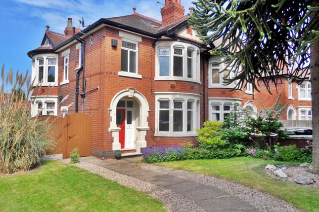 Thumbnail Semi-detached house to rent in Shardlow Road, Alvaston, Derby