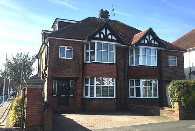Thumbnail Semi-detached house to rent in Nevill Road, Hove, East Sussex