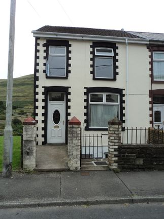 Thumbnail Flat to rent in Wyndham Street, Ogmore Vale, Bridgend.