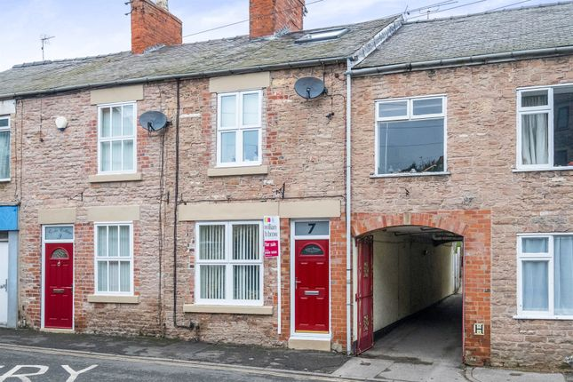 Thumbnail End terrace house for sale in Portland Street, Whitwell, Worksop