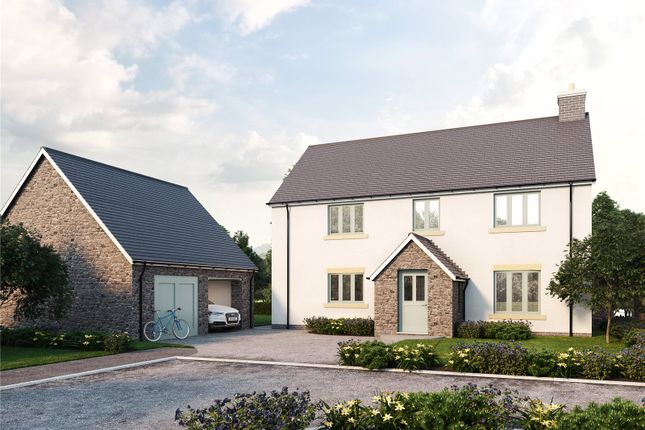 Thumbnail Detached house for sale in The Talybont, The Cedars, Llangattock, Crickhowell