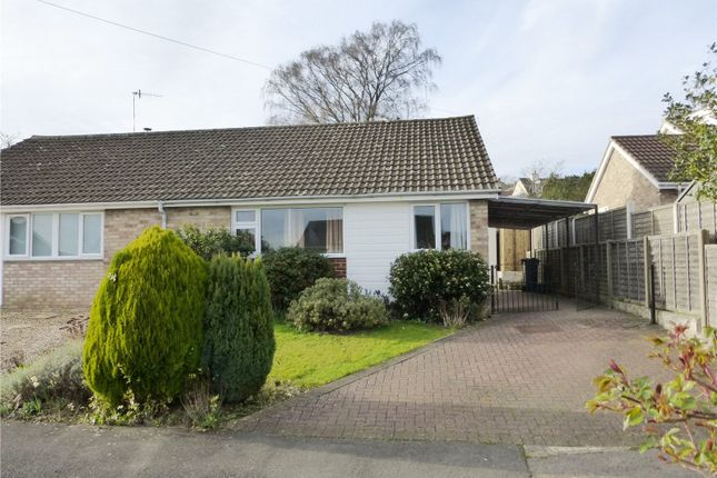 Thumbnail Semi-detached bungalow for sale in Upper Tynings, Westrip, Stroud, Gloucestershire