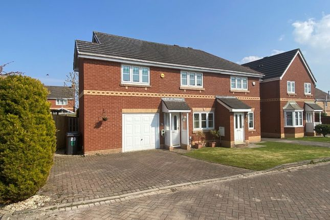 Semi-detached house for sale in Drumburgh Avenue, Carlisle