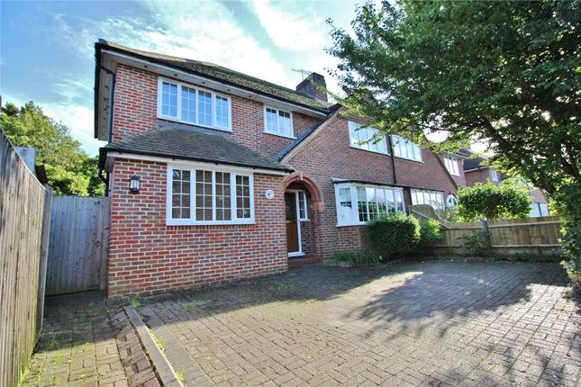 Thumbnail Semi-detached house for sale in Rectory Gardens, Broadwater, Worthing