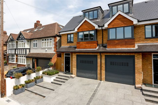 Thumbnail Semi-detached house for sale in Elmfield Avenue, Teddington
