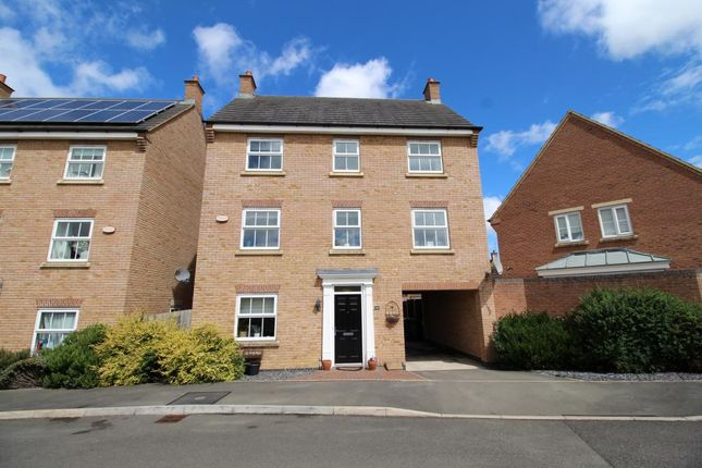 Thumbnail Detached house for sale in Thrush Close, Corby