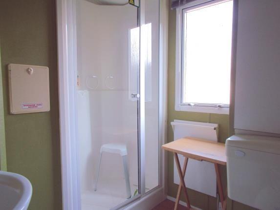 Shower Room of Wayside Caravan Park, Way Hill, Minster, Kent CT12
