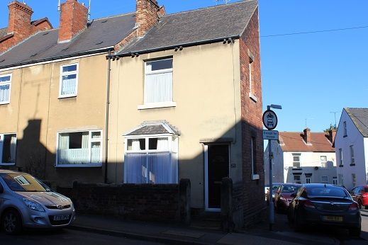 Thumbnail Terraced house for sale in Station Rd, Eckington