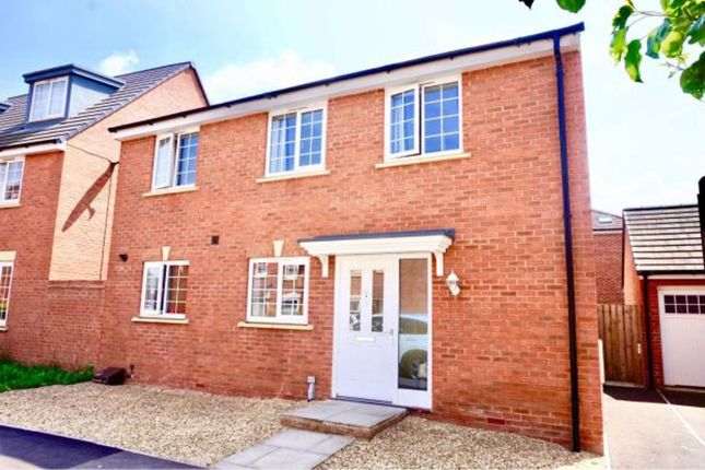 Thumbnail Detached house to rent in Goose Bay Drive, Kingsway, Gloucester