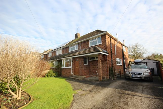 Thumbnail Semi-detached house to rent in Meadway, Harpenden