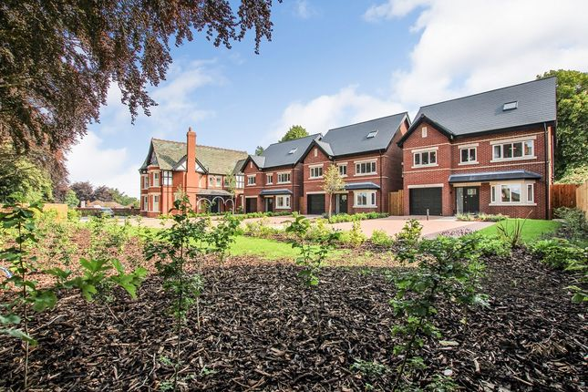 Thumbnail Detached house for sale in London Road, Elworth, Sandbach