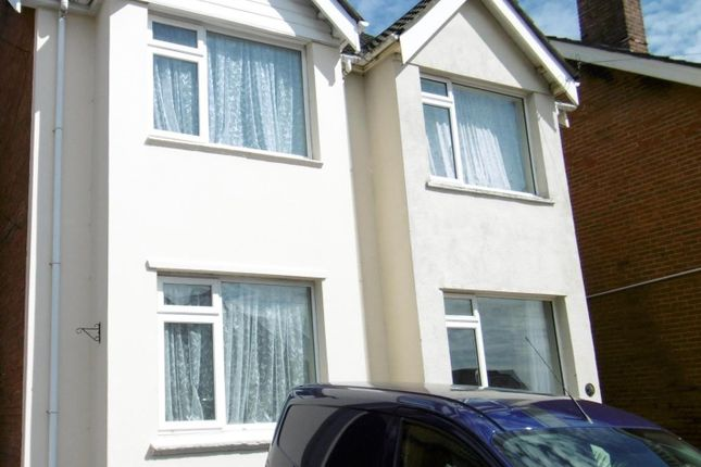 Thumbnail Semi-detached house to rent in Richmond Road, Parkstone, Poole